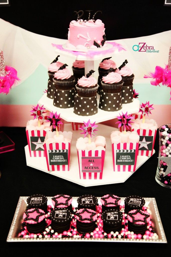 Fista glamorosa   Cumpleaños: Ideas y Decoracion   Pinterest   tema ...