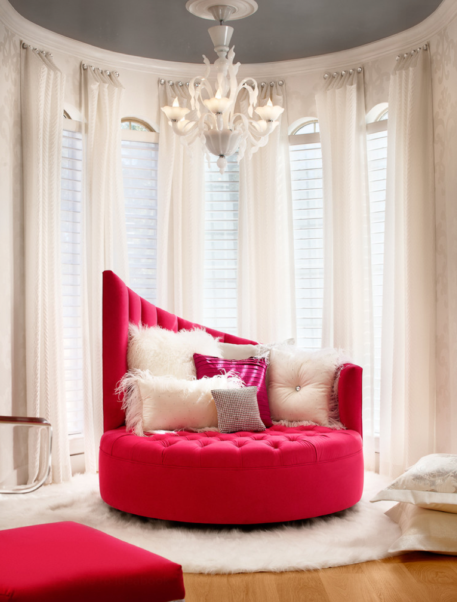 A S Dream Love That Hot Pink Wow Factor Bedroom Couch Glam