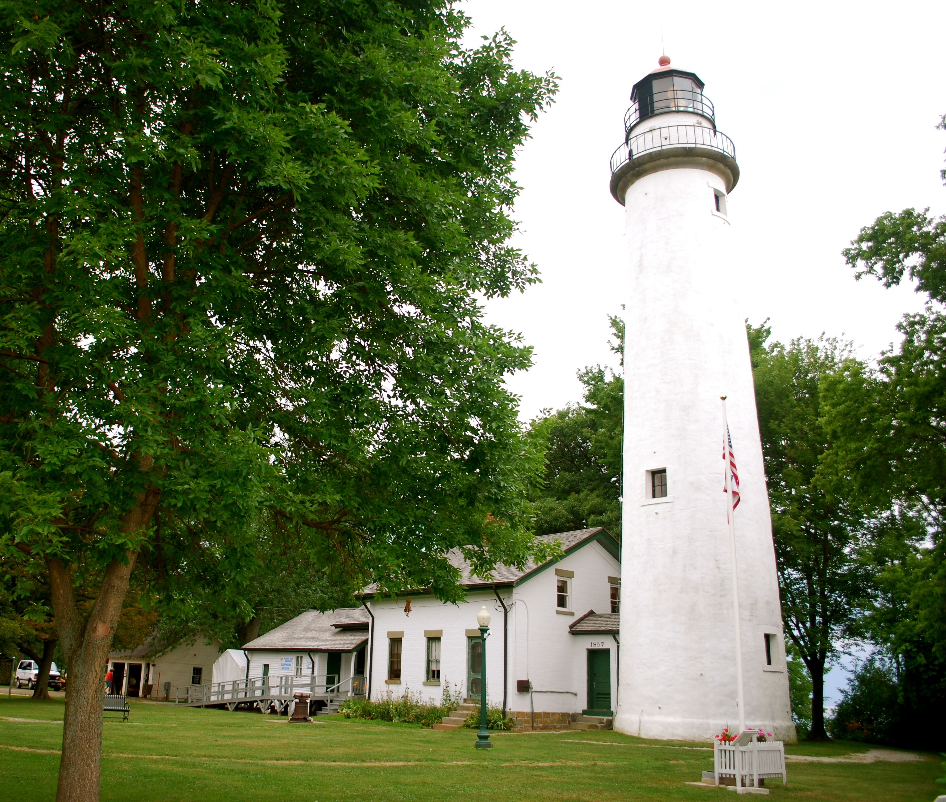 Point Aux Barques Lighthouse, Port Hope, Michigan