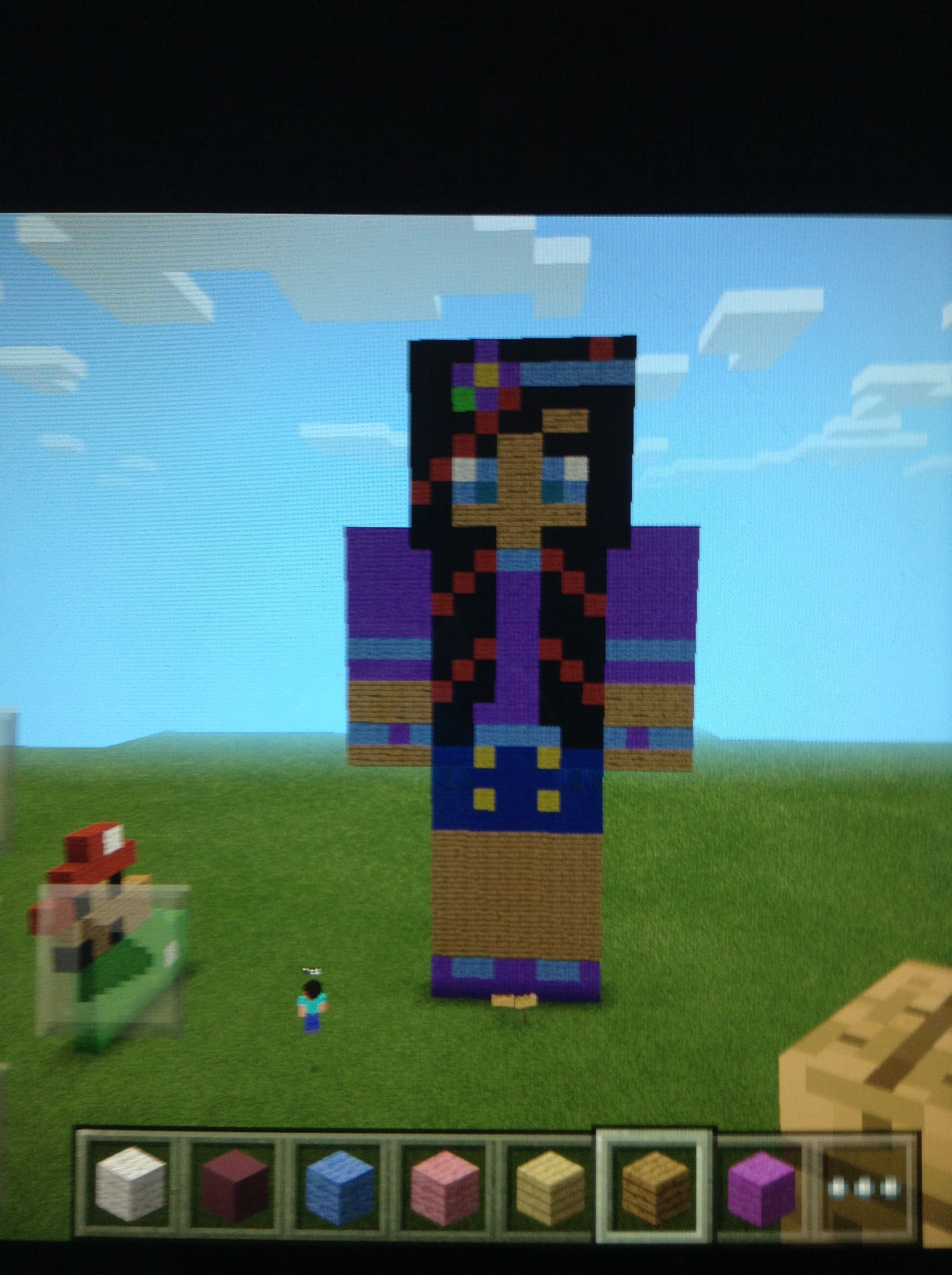 Salems Lady Is The Sweatist Person In Minecraft With Amy So Theres A