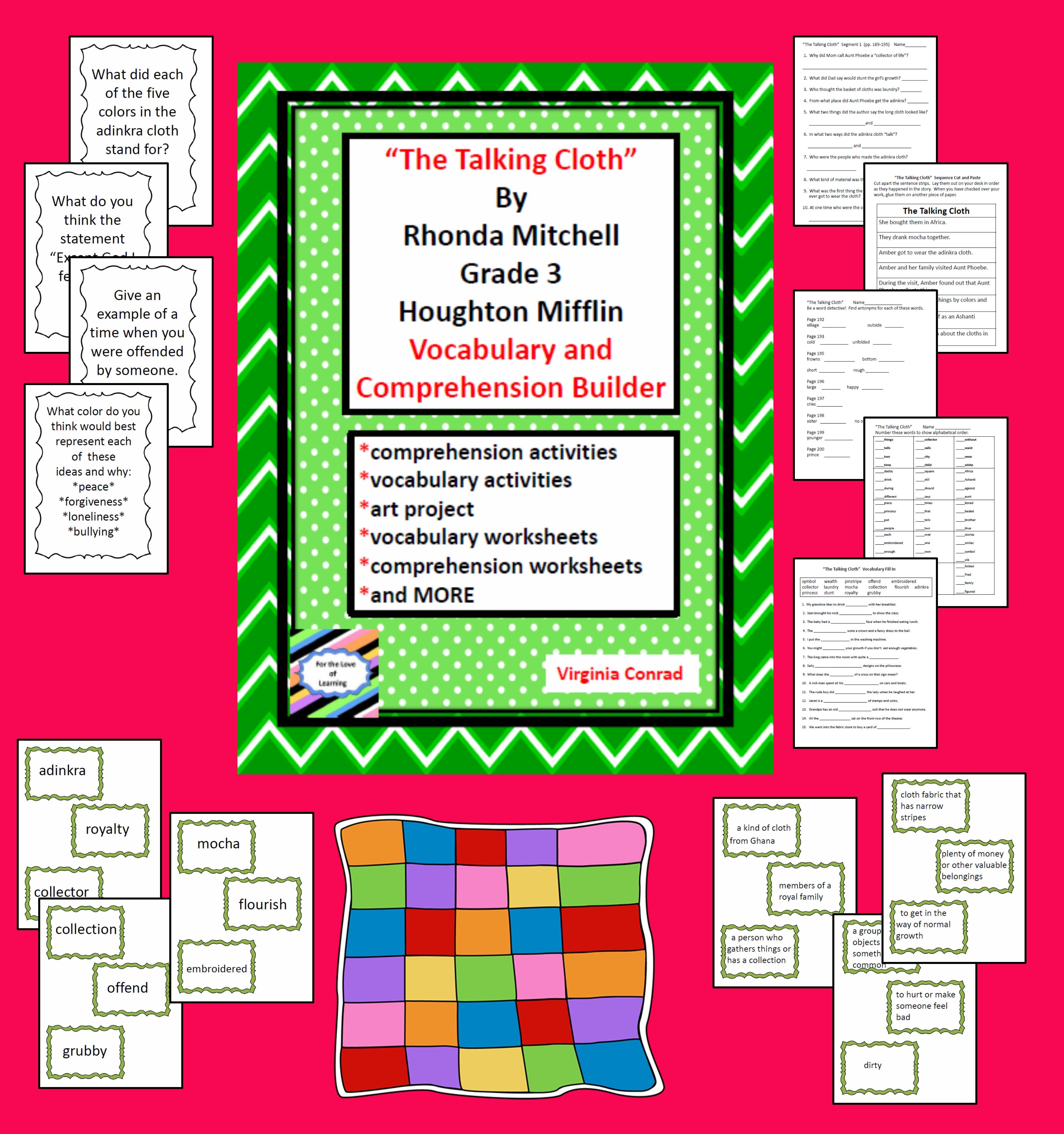 The Talking Cloth Houghton Mifflin Grade 3