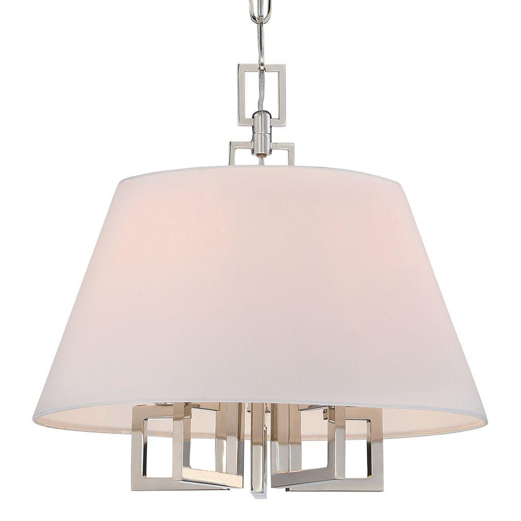 Maywell polished nickel small chandelier laylagrayce laylagrayce