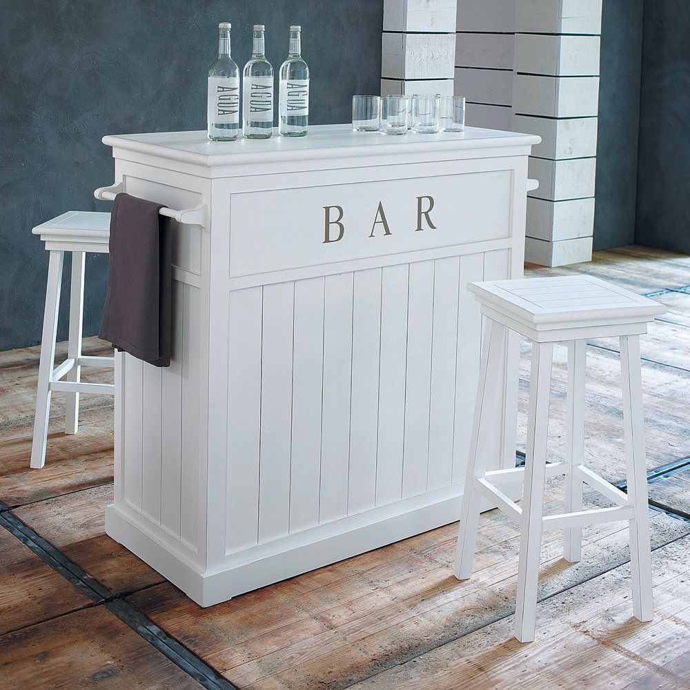 meuble de bar en pin blanc l 120 cm essayer et projet. Black Bedroom Furniture Sets. Home Design Ideas