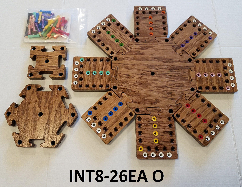 8 player modular fast track board game board games