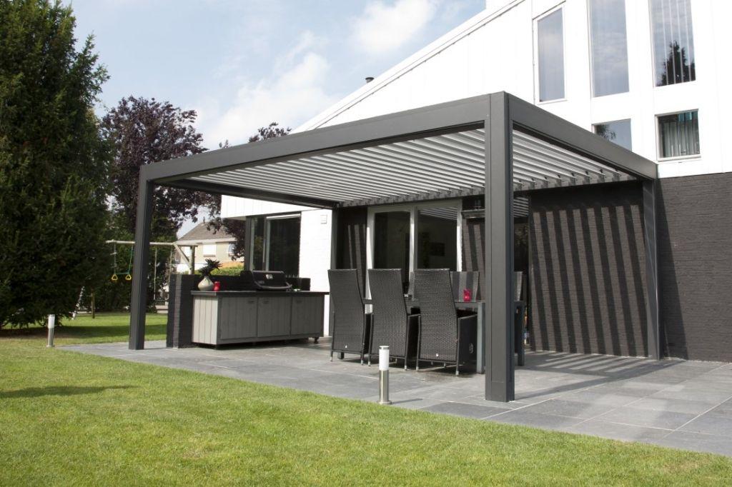 camargue terrace cover louvered. Black Bedroom Furniture Sets. Home Design Ideas