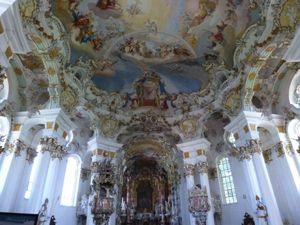 Oberammergau Linderhof Eglise De Wies Voyage En Allemagne Allemagne Tourisme Patrimoine Mondial