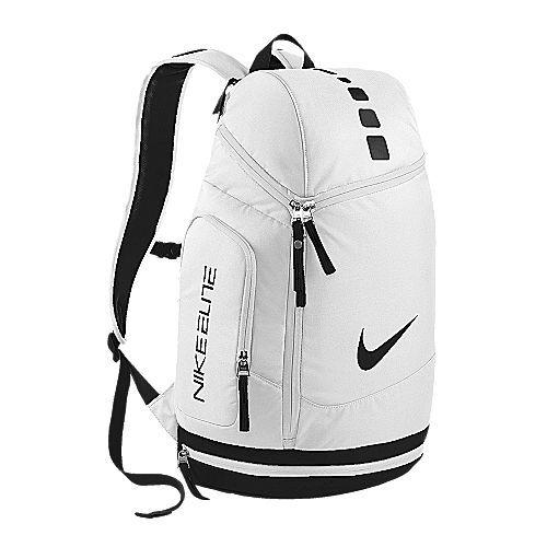 Black and white nike backpack