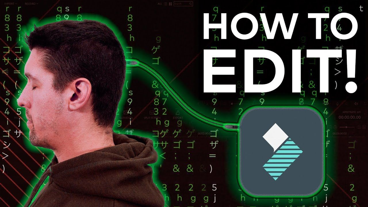 How to edit videos complete beginners guide video