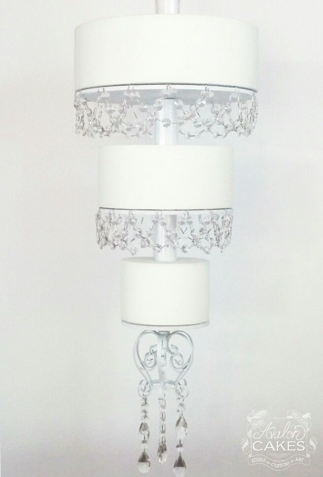 Hanging Chandelier Wedding Cake Tutorial Avalon Cakes I Really Want To Try My