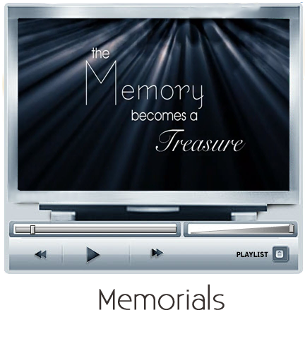 click here to watch a dvd memorial slideshow. | celebration of, Powerpoint templates