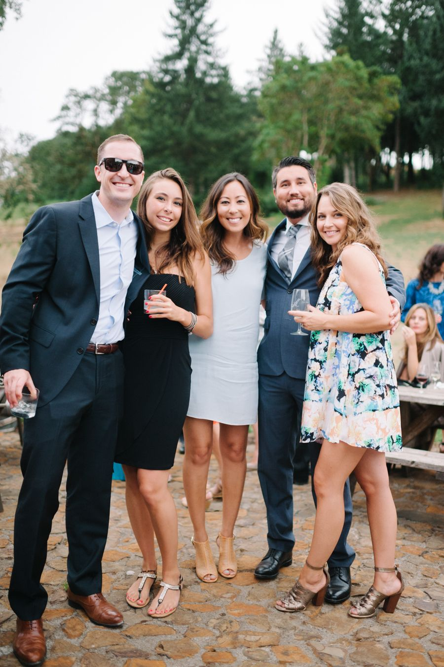 Elegant Oregon Vineyard Summer Wedding Dresscode
