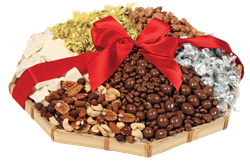 Great Plains Platter (5 Price Points) - the happy couple will be enjoying this sweet tray for days! #nutcrackersweet #wedding #weddinggift #giftbaskets