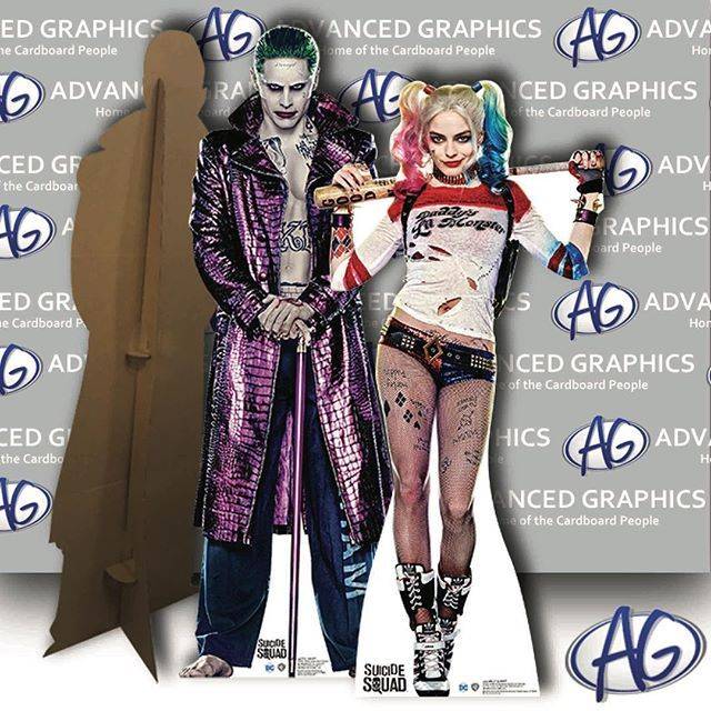 free shipping all month harley quinn and joker from suicide