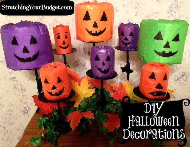 DIY Halloween Decorations Halloween Pinterest DIY Halloween - halloween diy crafts