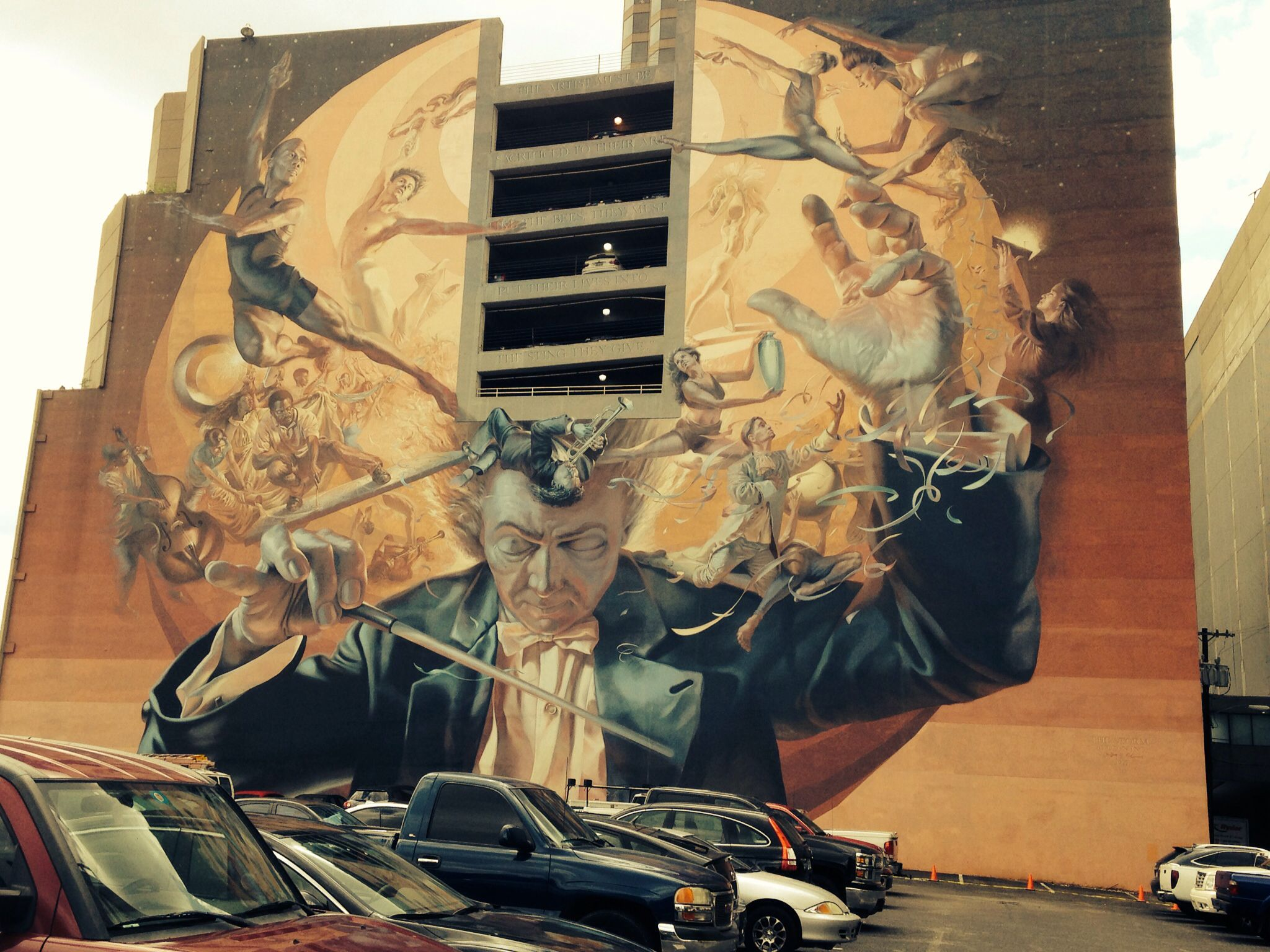 Wall art in downtown dallas city art or murals pinterest for Dallas mural artists