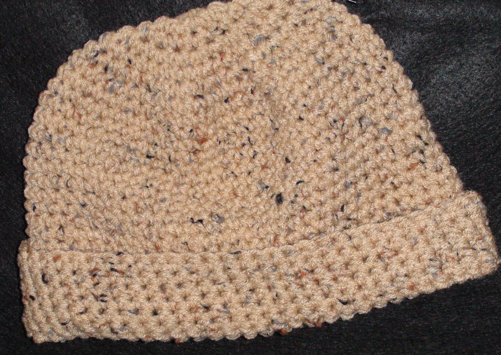 Men\'s Large Crochet Beanie Cap Free Crochet Pattern | crochet ...