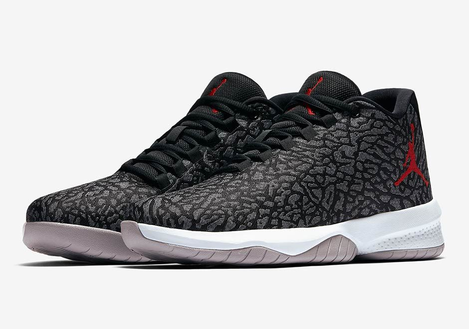 #sneakers #news Jordan Brand Adds Elephant Print Uppers To The B Fly