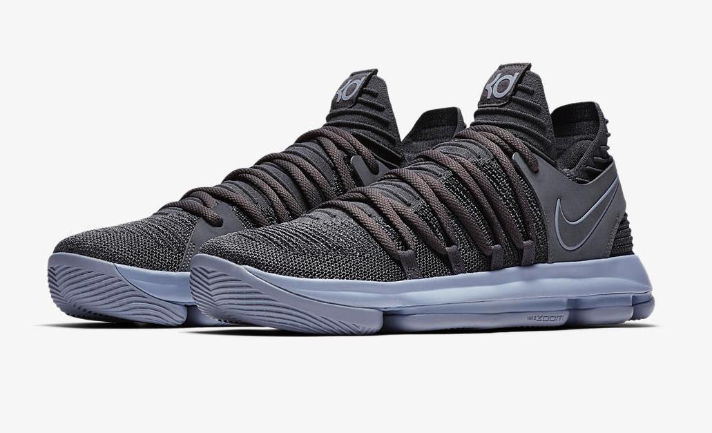 Nike KD 10 Dark Grey • KicksOnFire