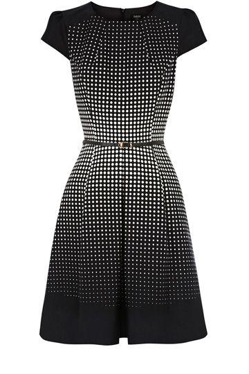 Dresses | Multi Ria Spot Dress | Oasis LOVE