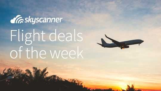 Cheap flight deals and special offers