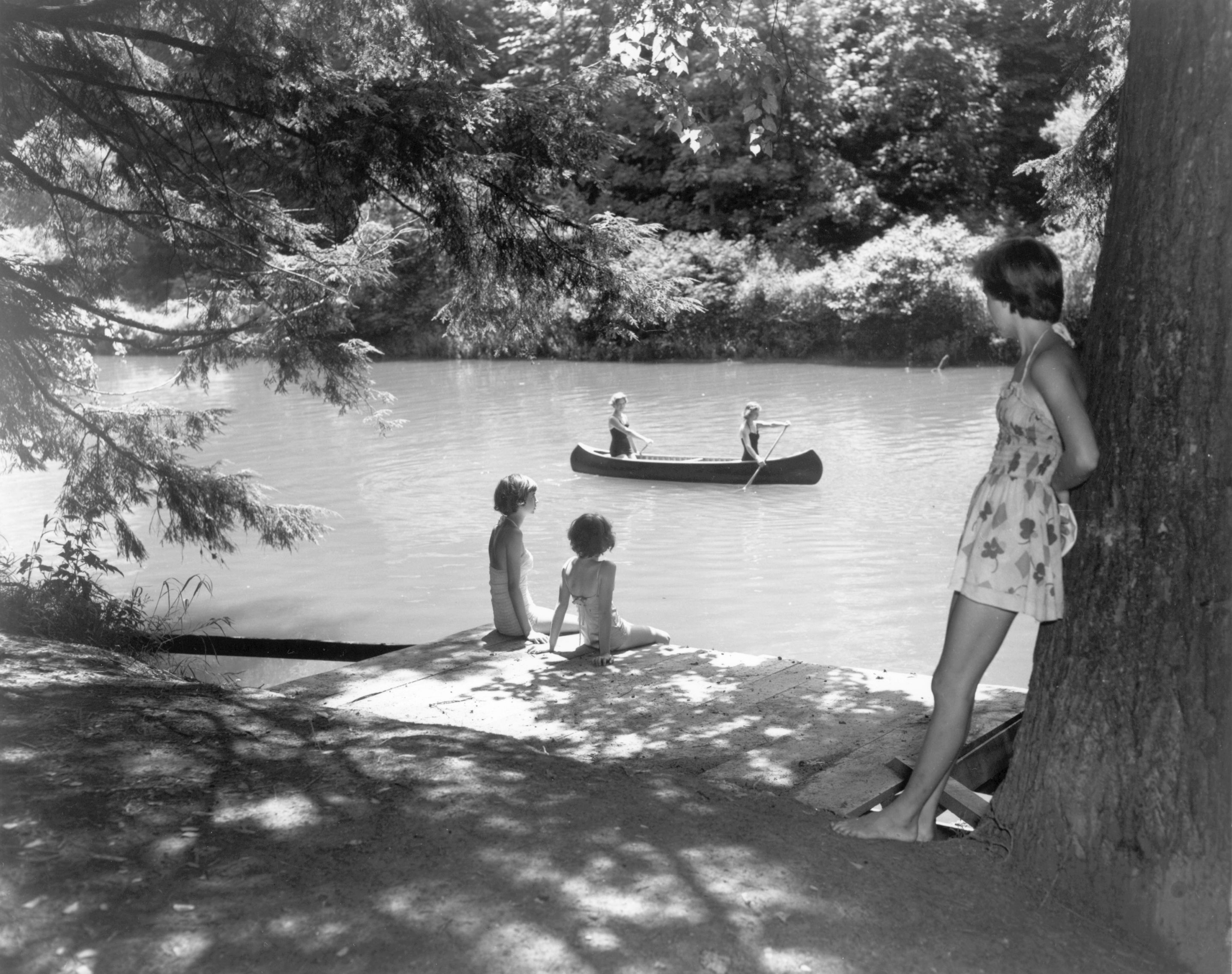 Camp Carysbrook Near Christiansburg 1950 Vcc 013543 000 Virginia State Chamber Of Commerce Photograph Collection P Vintage Cabin Old Photos Vacation Images