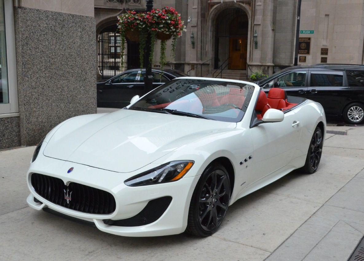 2014 maserati granturismo convertible sport cars - Maserati granturismo red interior ...