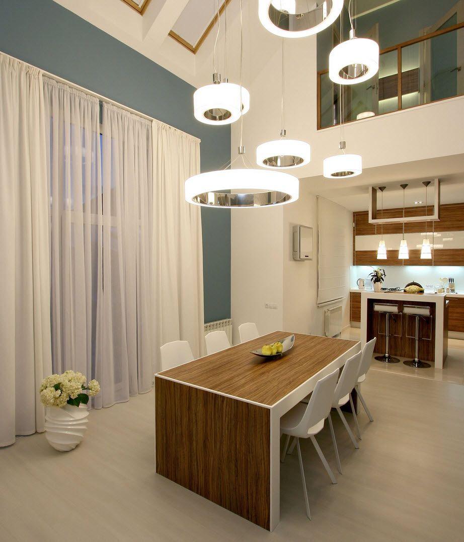 lamparas de techo modernas para sala y comedor - Buscar con Google ...