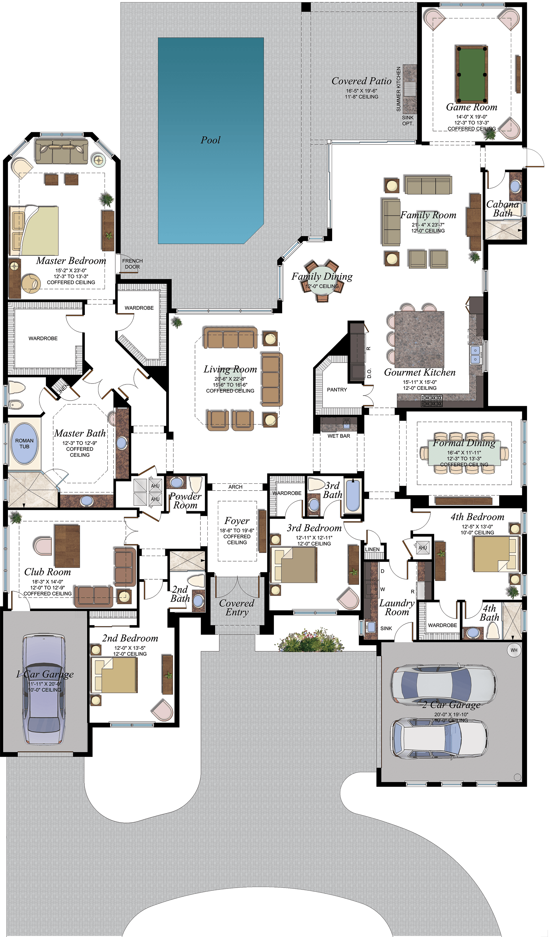 Belvedere Floorplan Home Design Floor Plans House Layout Plans My House Plans