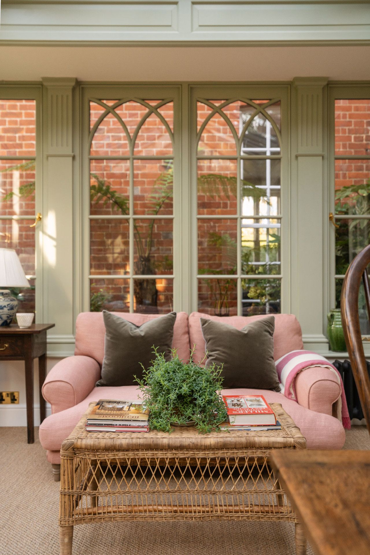 Our Bright Orangery   Front Roe by Louise Roe in 2021   Living room decor inspiration, House ...