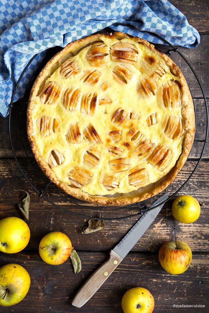Elsässer Apfelkuchen mit Rahmguss – Madame Cuisine