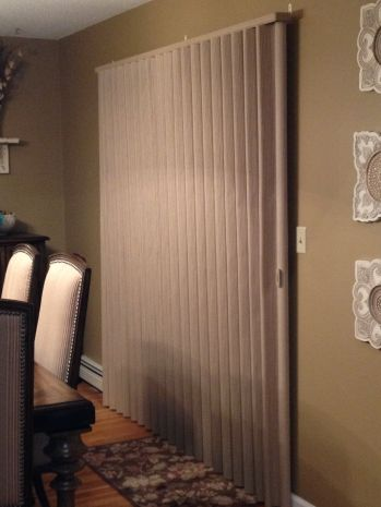 Hunter Douglas Vignette Vertiglide Budgetblinds Yorktownheights Newyork Home Windows