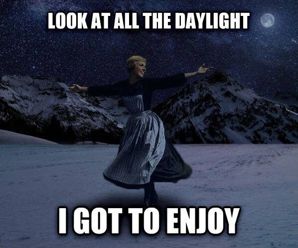Daylight Savings Time Funny Quotes: Night Shift Problems.