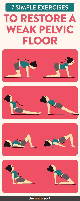 7 Simple Exercises to Restore a Weak Pelvic Floor
