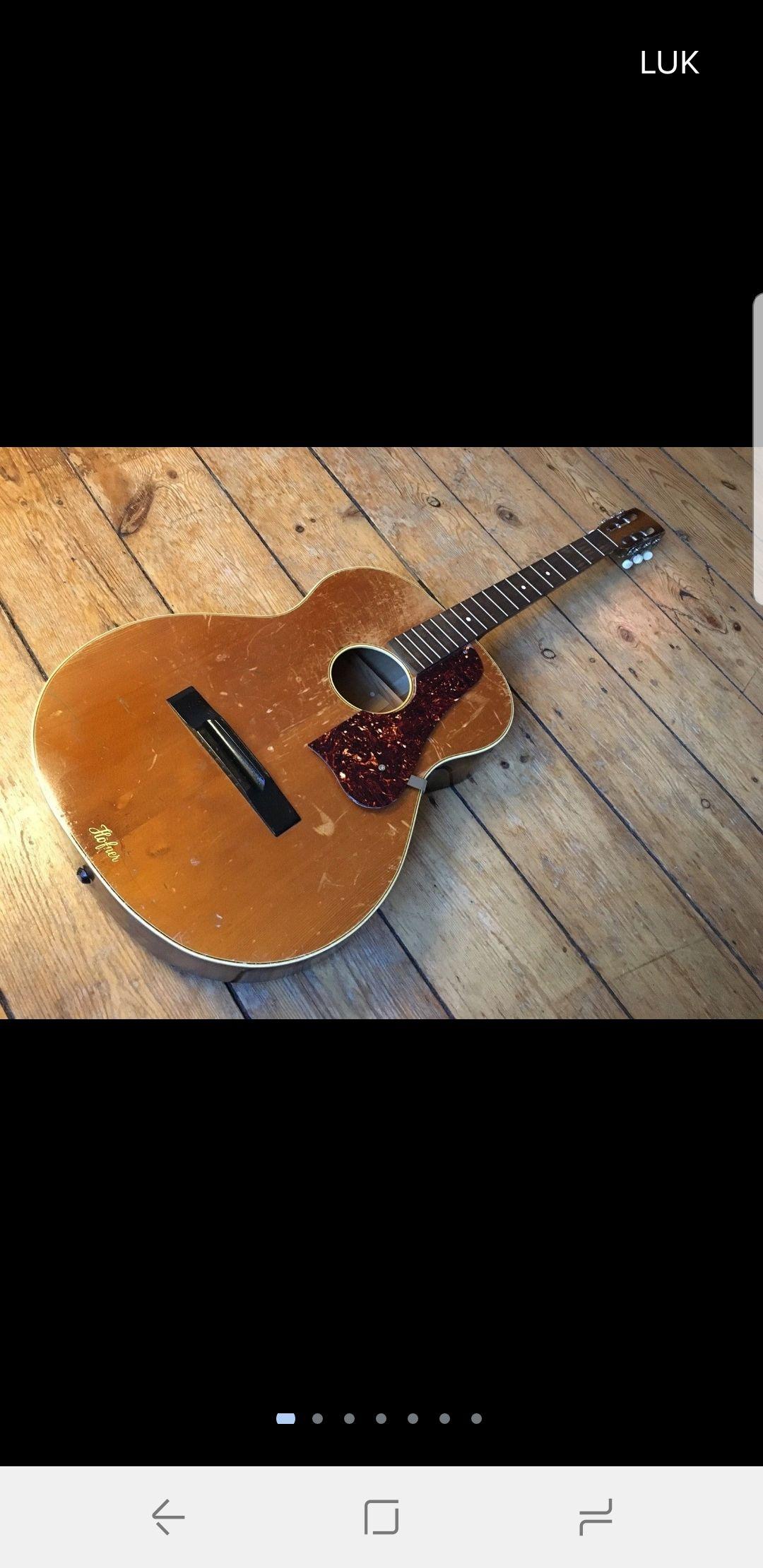 What Hofner Model Is This Pls Help Guitar Acoustic Model