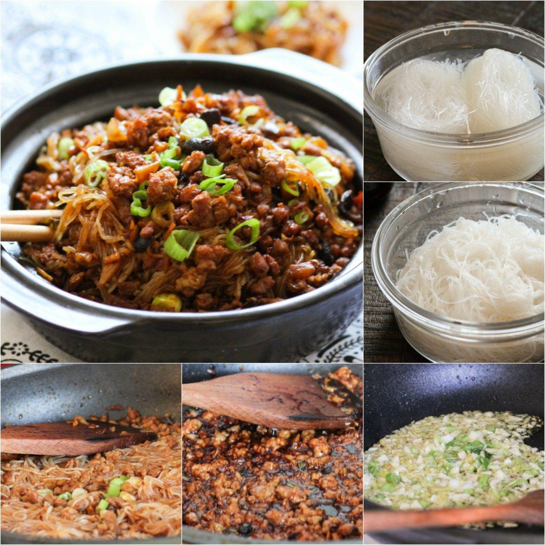 Minced Pork Vermicelli Spice The Plate Recipe Mince Recipes Dinner Pork And Beef Recipe Pork Mince Recipes