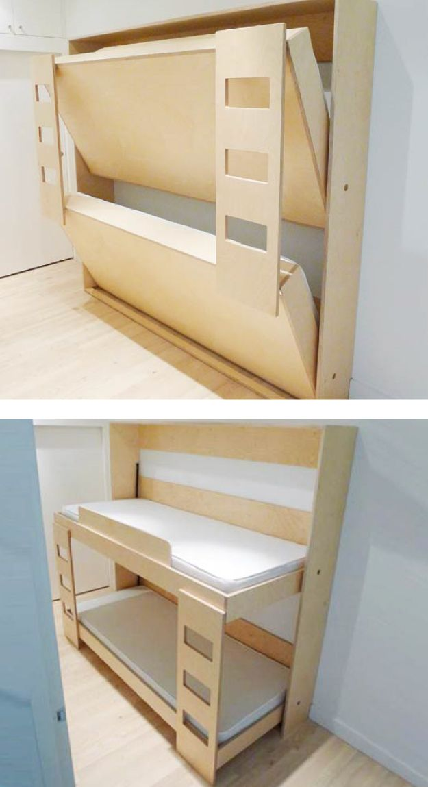 Lit Refermable Murphy Bunk Beds Space Saving Bunk Bed Bunk Bed Designs