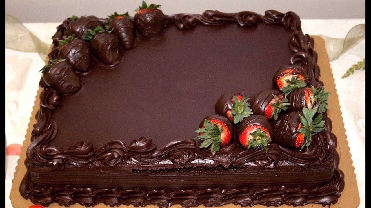 торт шоколадный на день рождения фото последнее время