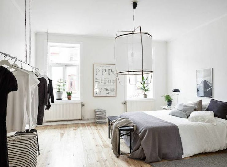 Appartement moderne au design scandinave minimalist bedroomminimalist decorbedroom decorating