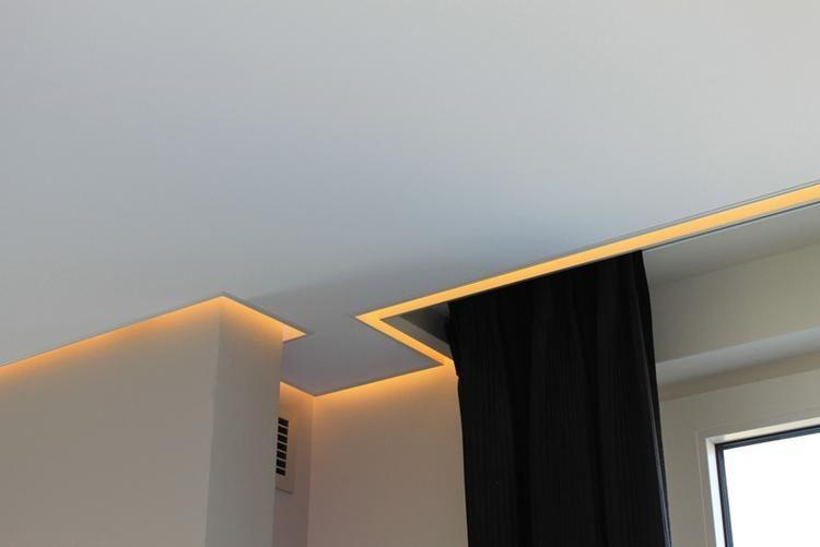Verrassend LED koofverlichting verlaagd plafond | Home room design, Ceiling GZ-62