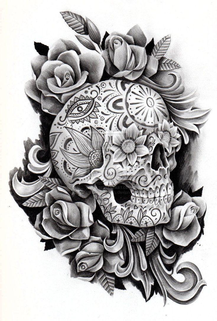 Rose Mexican Girly Tattoo Designs Valoblogi Com