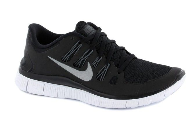 Women s Nike - FREE 5.0+ BLACK   WHITE 580591 002  42787f38f