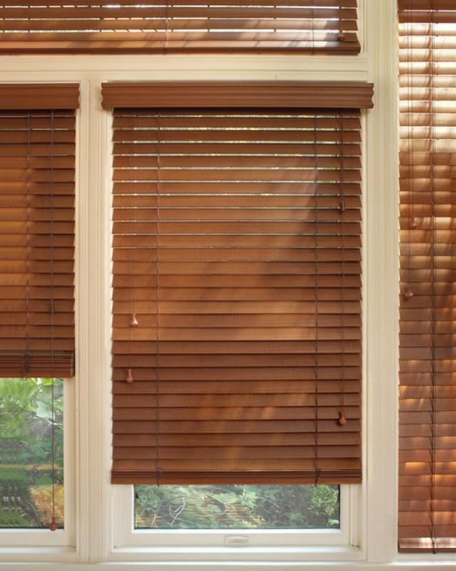5 Curtain Ideas For Bay Windows Curtains Up Blog: Wooden Window Blinds, Blinds For