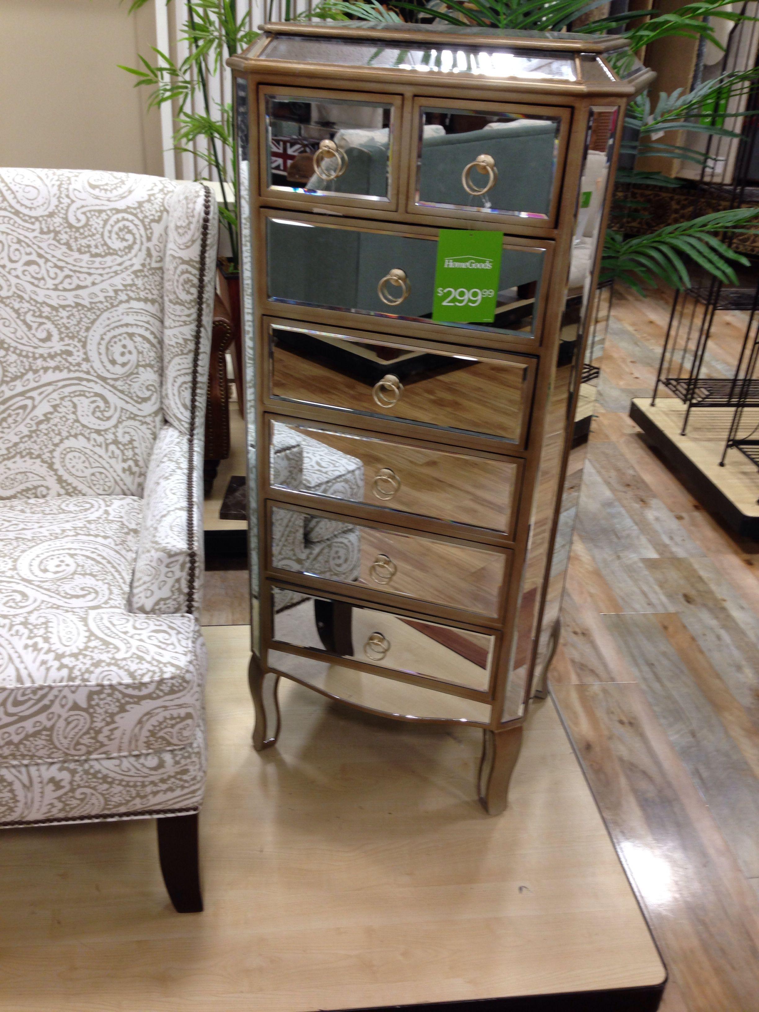 Mirrored dresser · Home Goods FurnitureMirrored ...