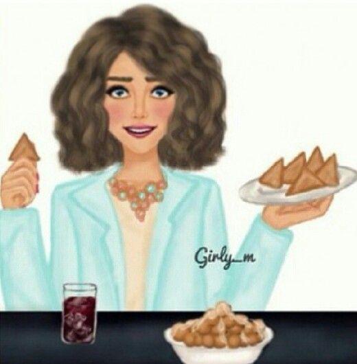 رمضان سمبوسه تايم Girly M Girly Pictures Girly Art