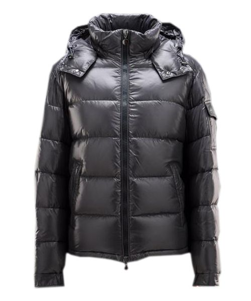 Moncler Maya Winter Mens Down Jacket Fabric Smooth Grey Cheap Moncler  Jackets Outlet Store