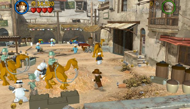 Egypt | Lego Indiana Jones | Around the World in 80 Games