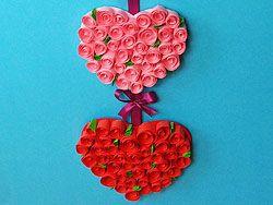 Rosen herzen bestelidee f r den muttertag basteln pinterest muttertag muttertag ideen - Bastelideen muttertag ...