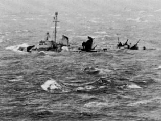 U S  Pacific Fleet 1944   December 18, 1944 the USS Dyson and the