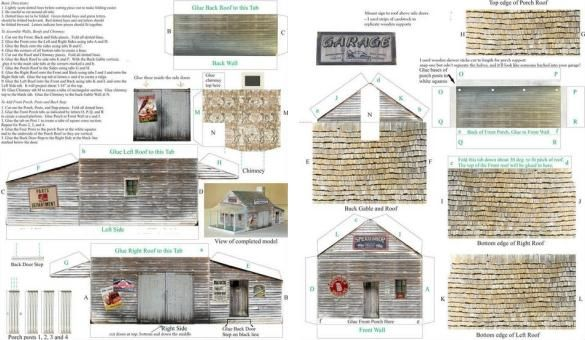 Photobucket paper crafts pinterest ho scale scale for Hot house plans free