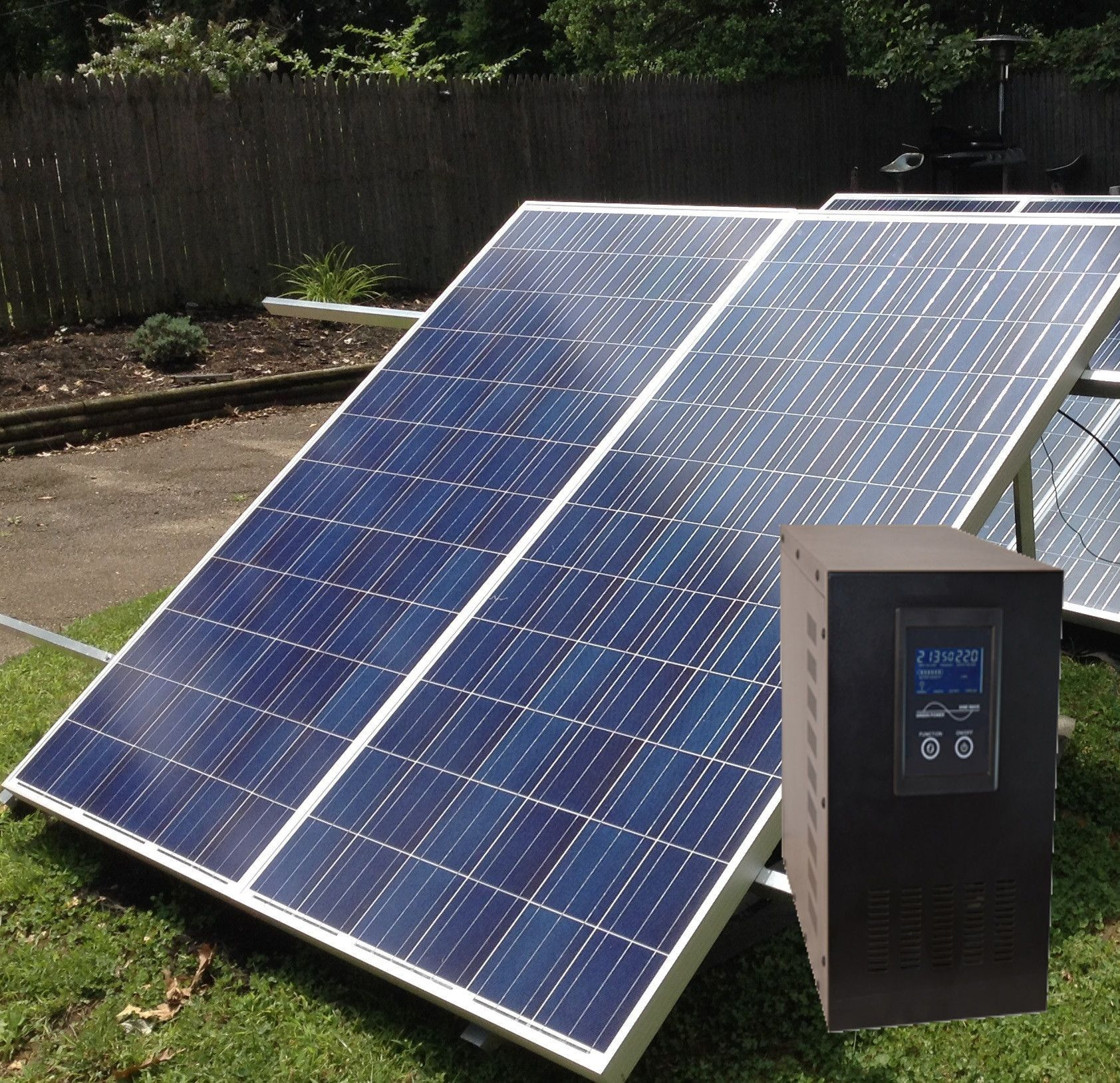 f grid Whole House Power 2KW Solar Generator Kit powered with 2